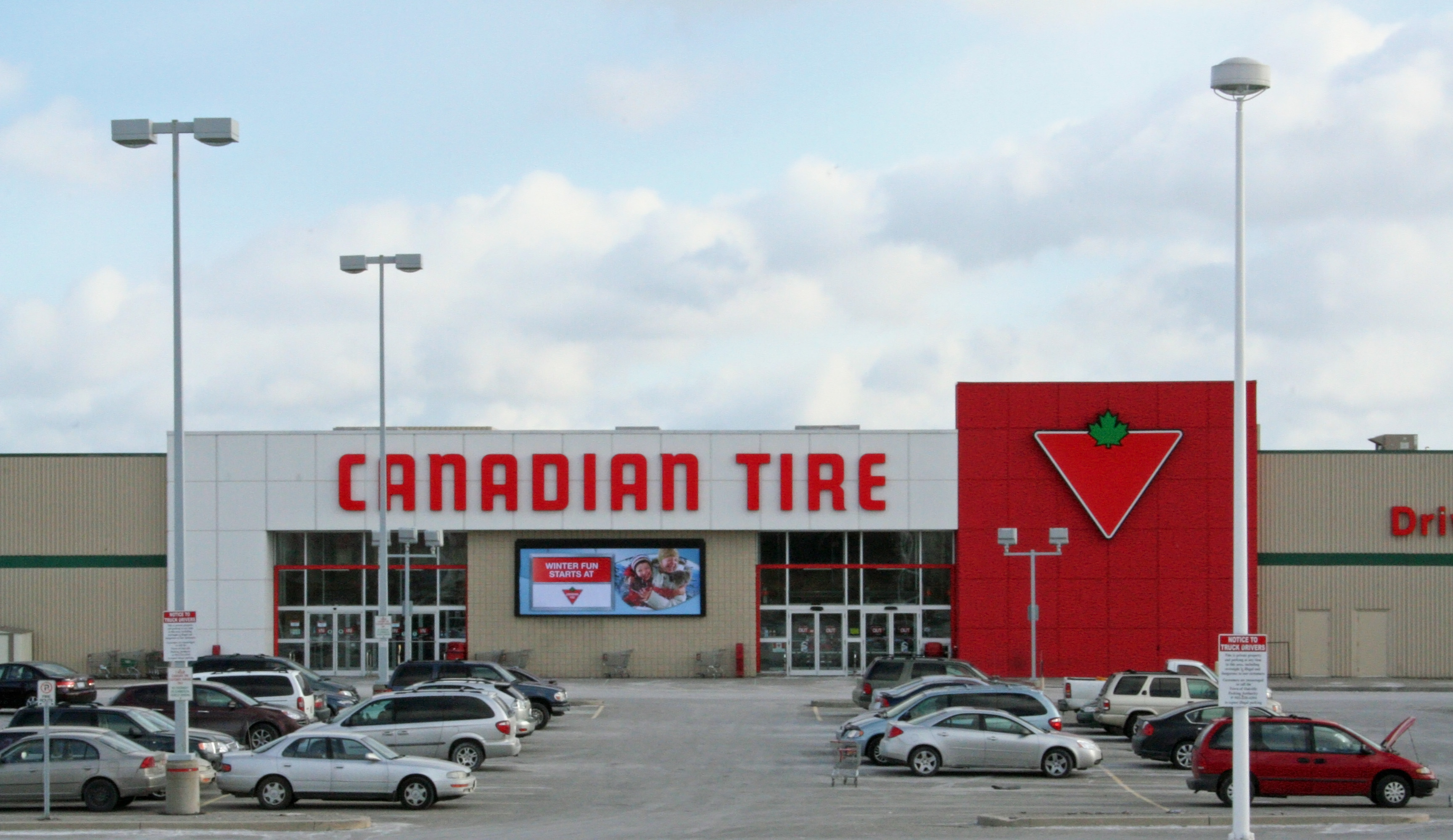 Canadian Stores Canadien Tire