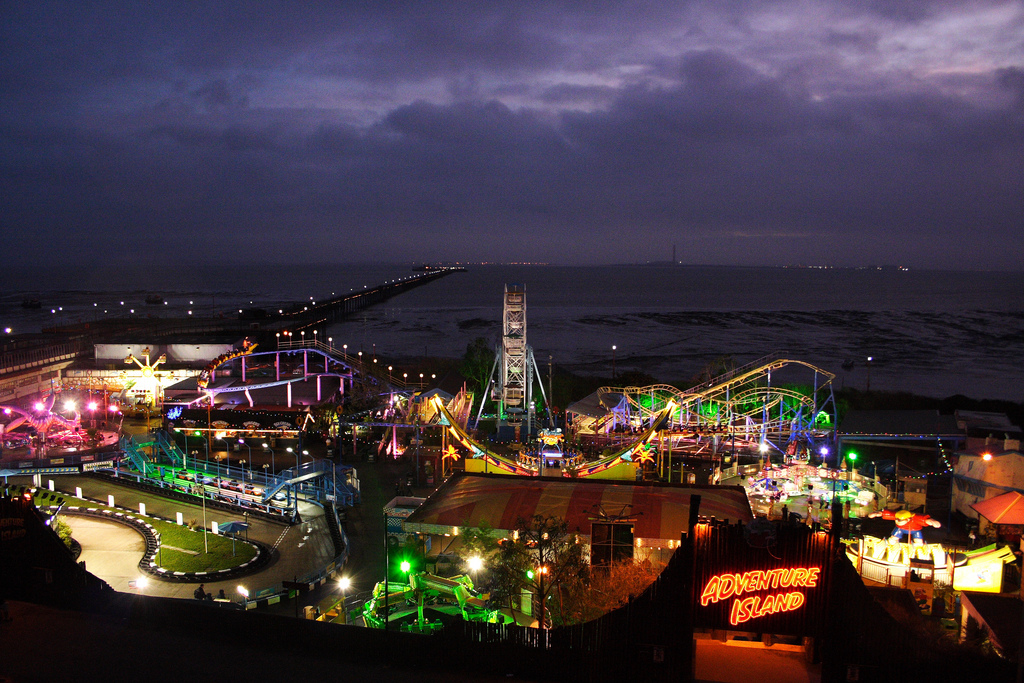 Adventure Island Southend Sea At