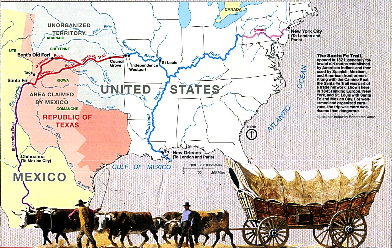 Santa Fe Trail Wikipedia