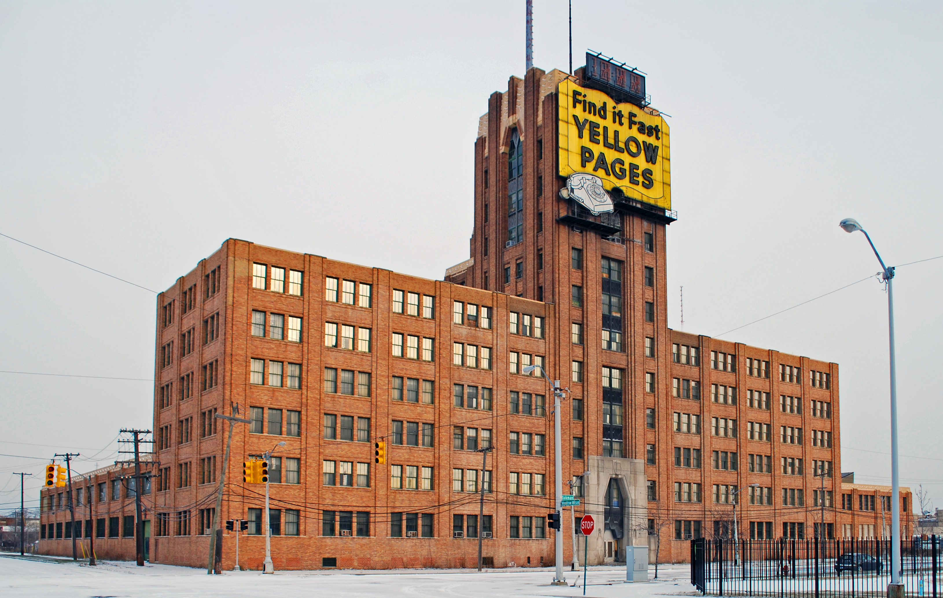 Warehouse In Michigan File Michigan Bell And Western Electric Warehouse Detroit