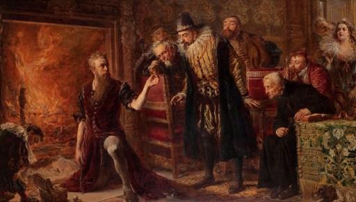 Alchemist Sendivogius, by Jan Matejko.
