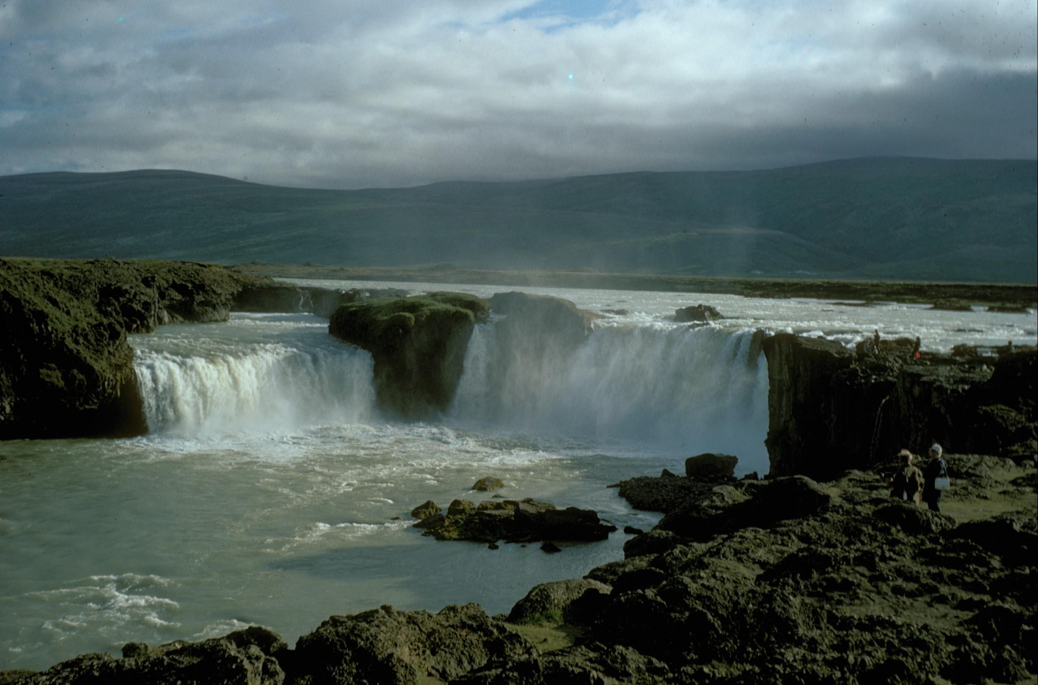 Niagara Falls Wallpaper Nature File Iceland Godafoss 1972 Jpg Wikimedia Commons