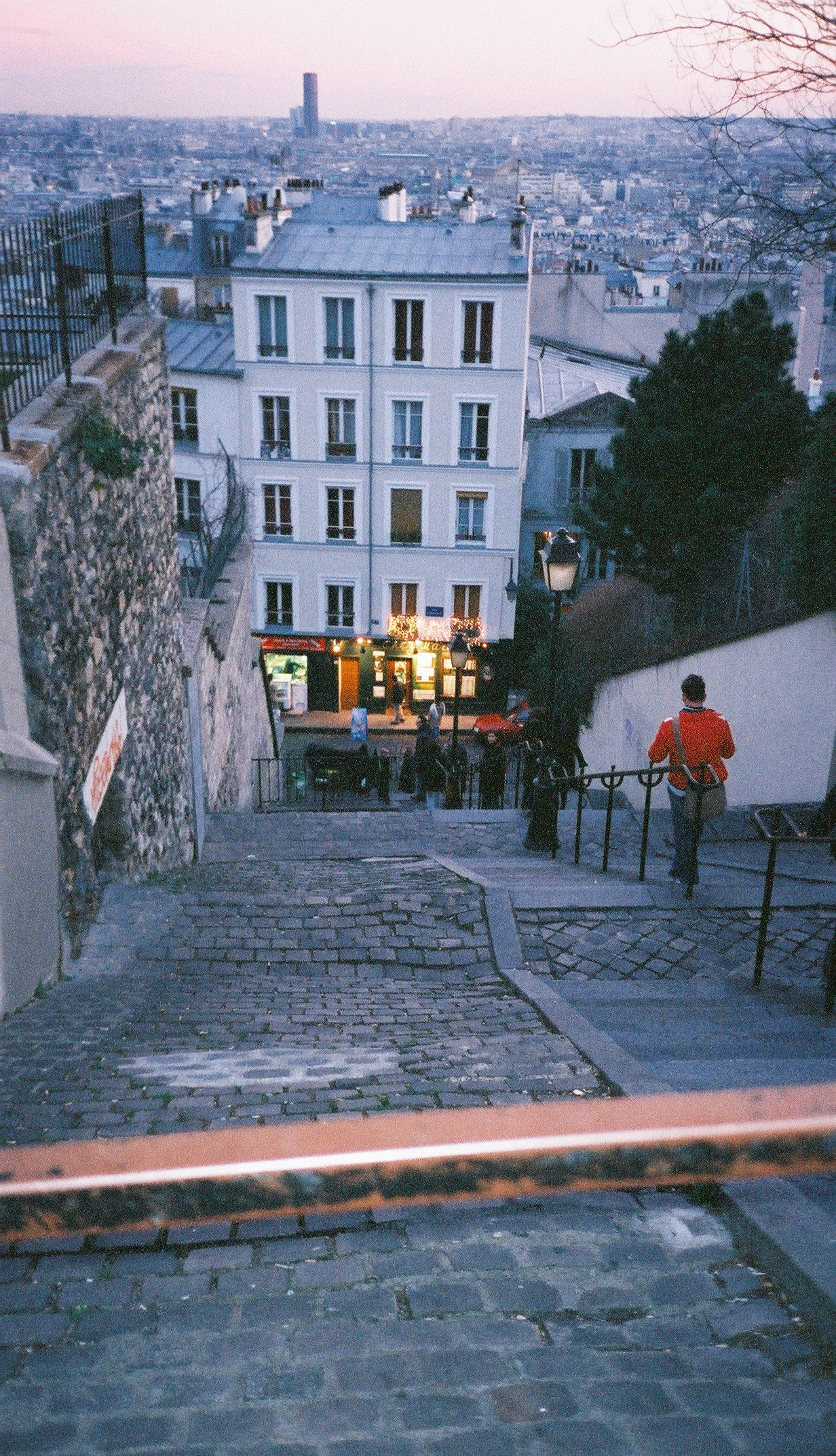 Paris Rue File:the Stairs Of Montmartre - Rue Du Calvaire, Paris