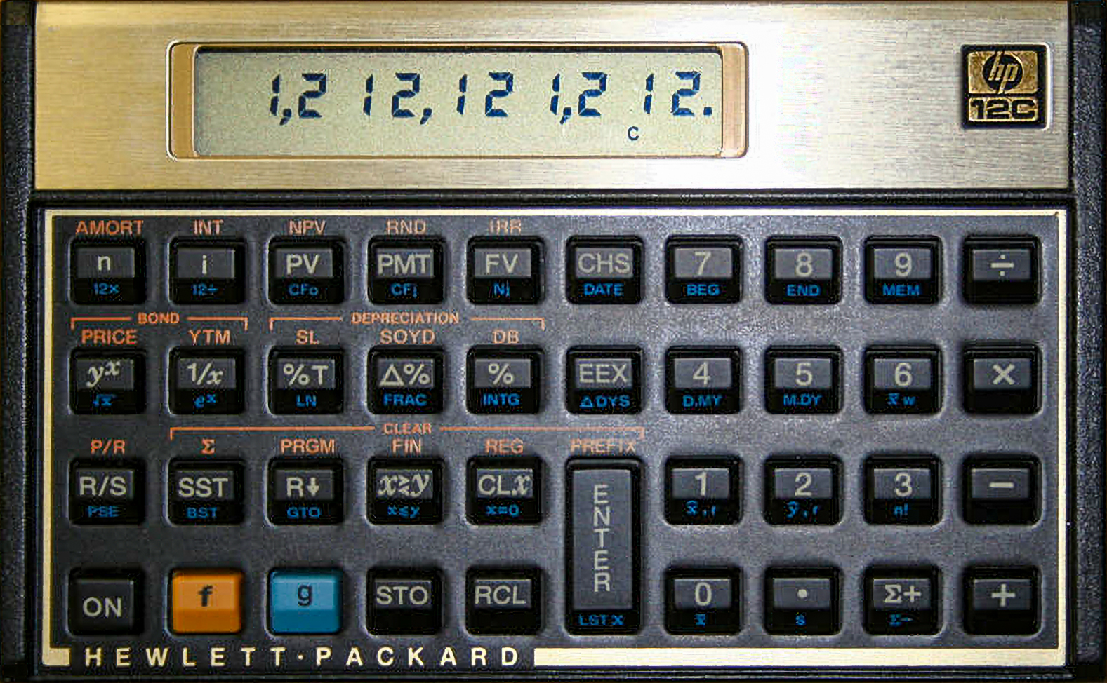 manual hp 12c calculator