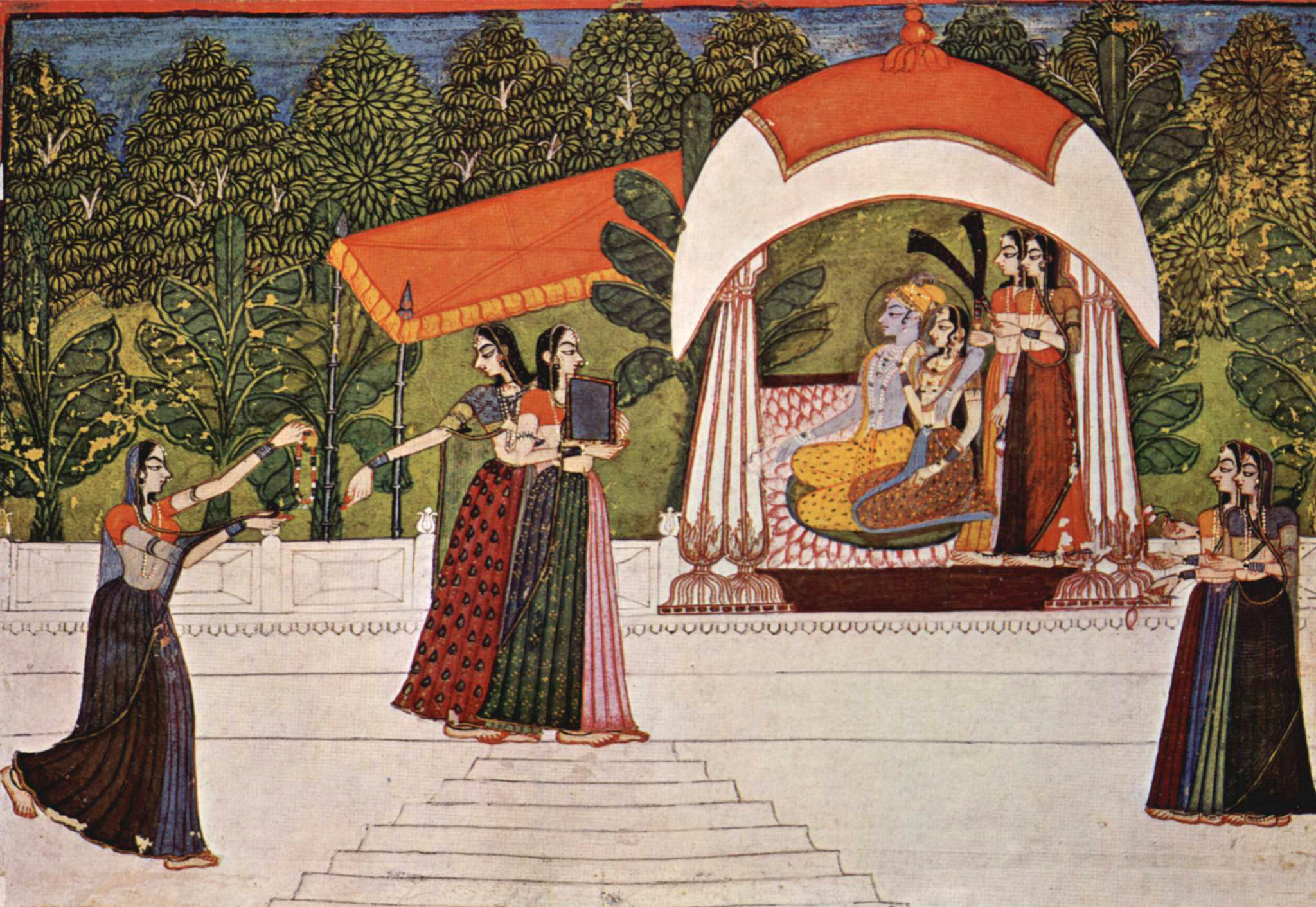 Pintura India Rajput Painting Wikipedia