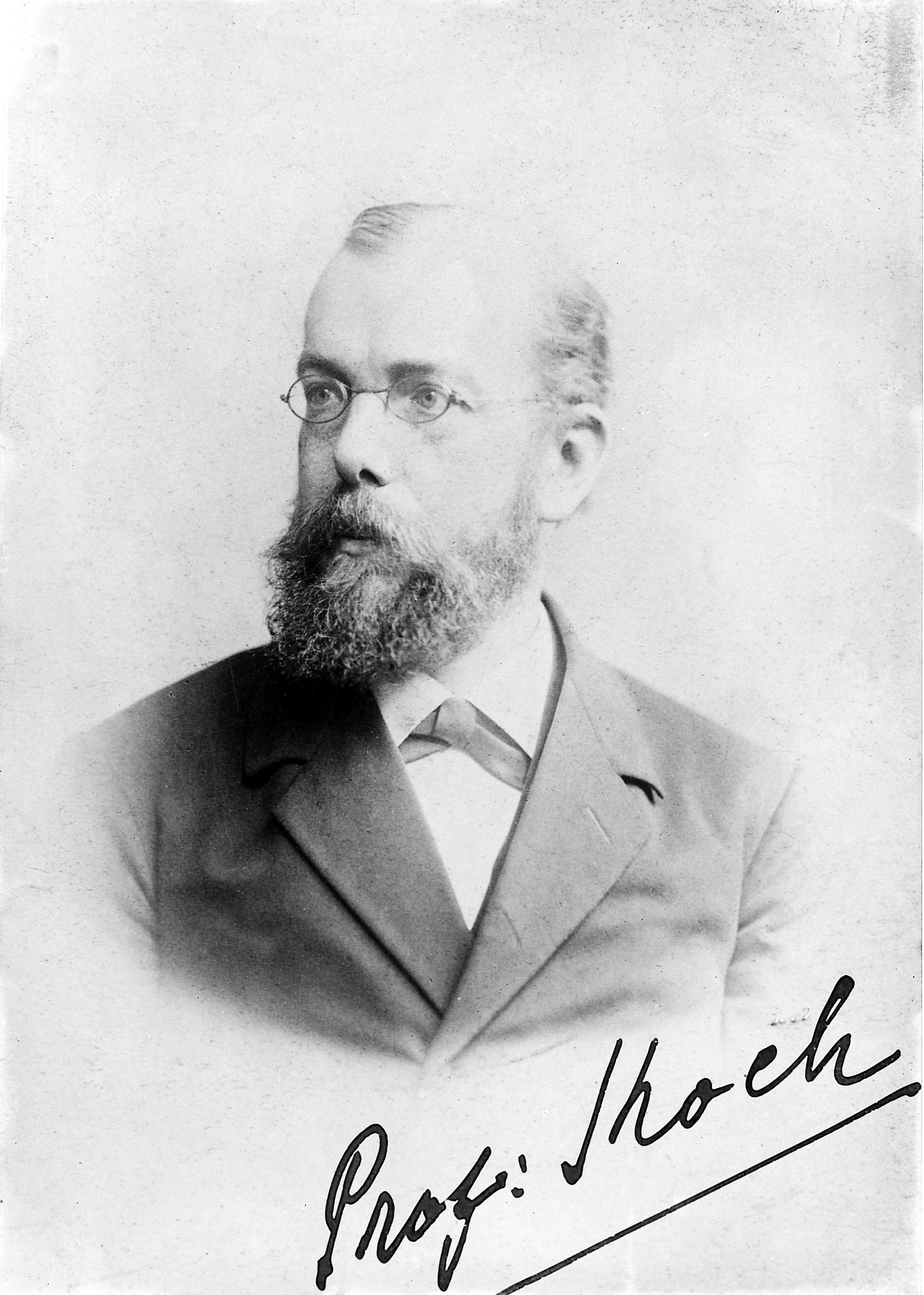 Hermann Koch File Portrait Of Robert Herman Koch 1843 1910 Wellcome