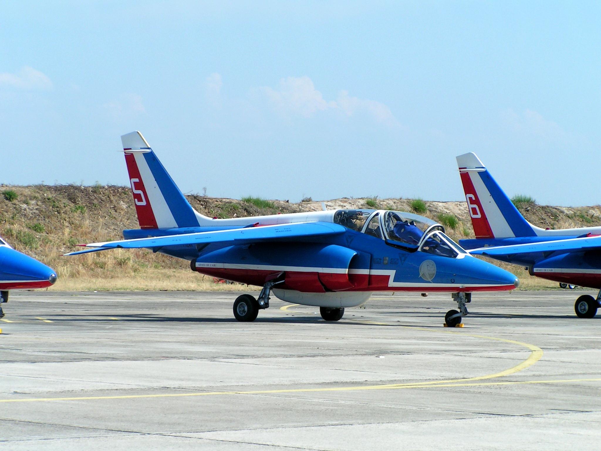 Description Alphajet Patrouille De France JPG