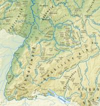 Liste der Landschaften in Baden-Wrttemberg  Wikipedia