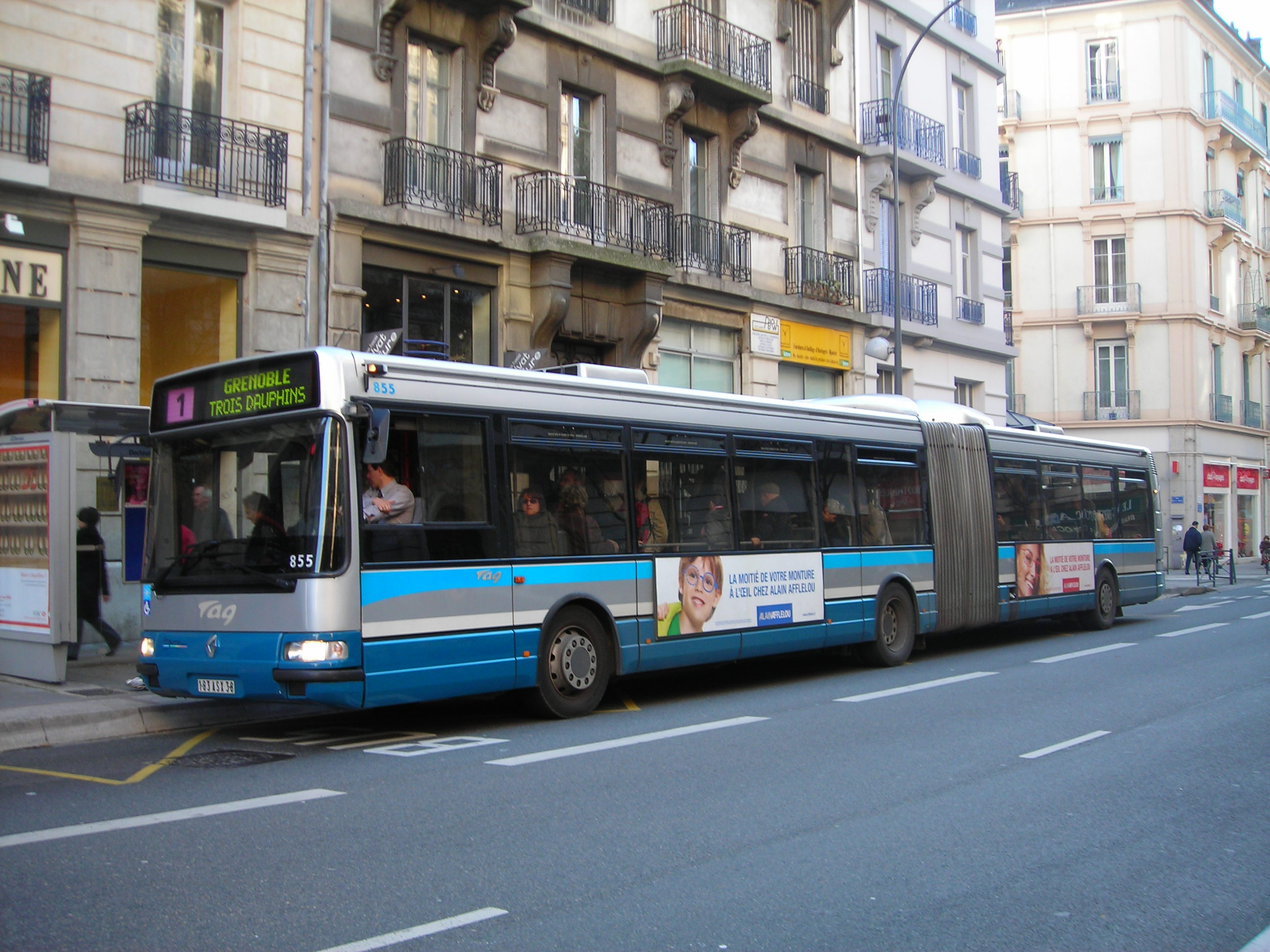 Bus Bordeaux Grenoble File Agoral Tag Ligne1 3d Jpg Wikimedia Commons
