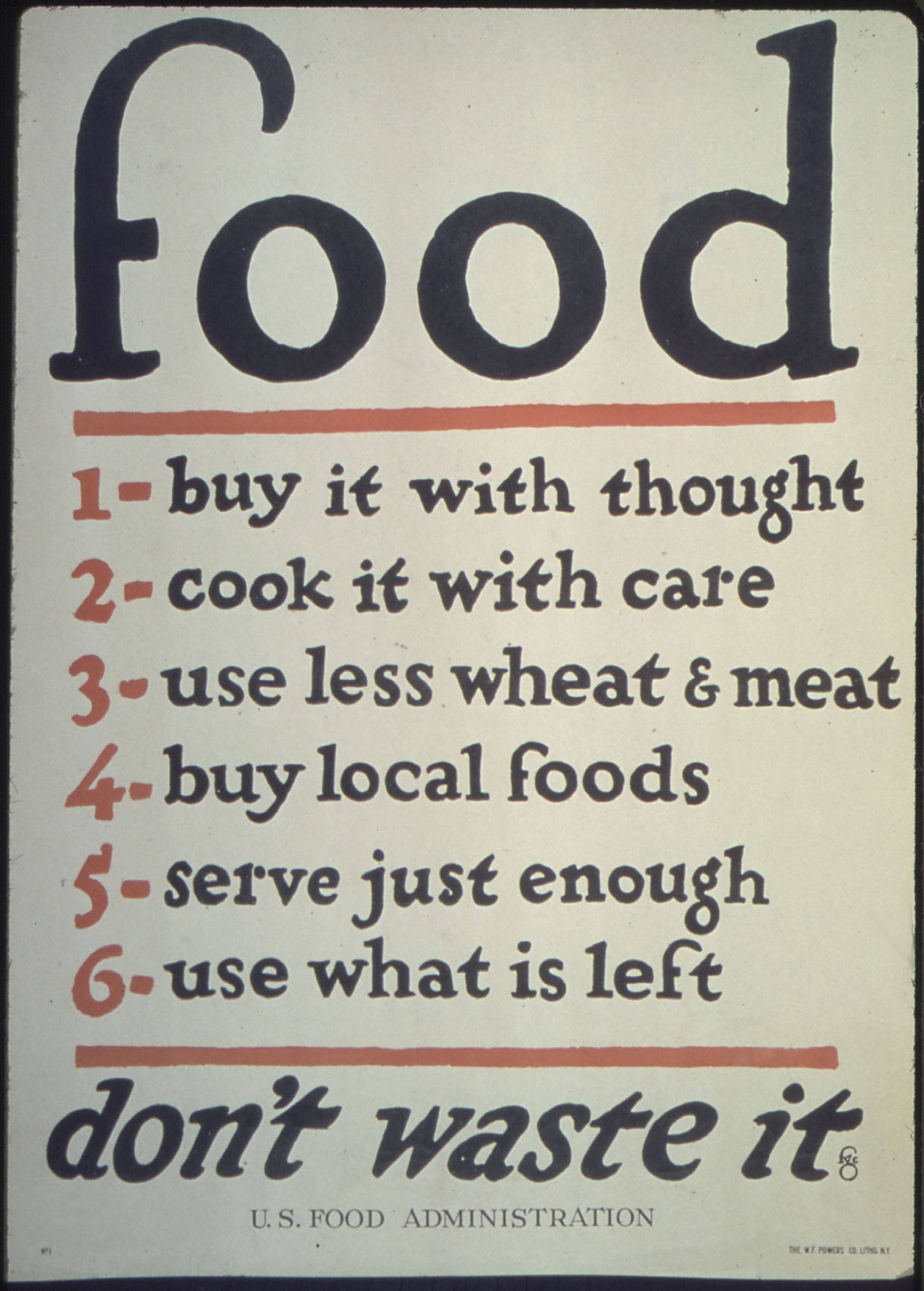 Buy Food File Quotfood 1 Buy It With Thought 2 Cook It With Care 3