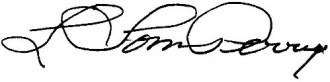 Signature of L. Tom Perry