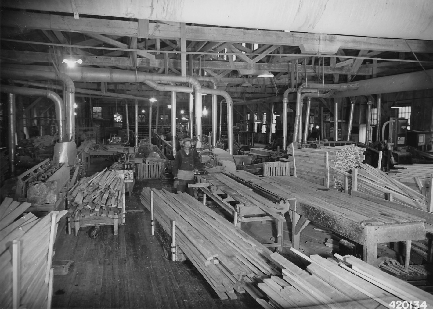 Filephotograph Of Hardwood Flooring Mill Of The Connor