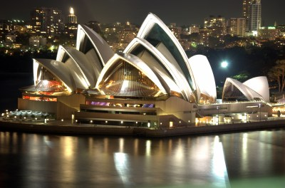 Sydney Opera House Night