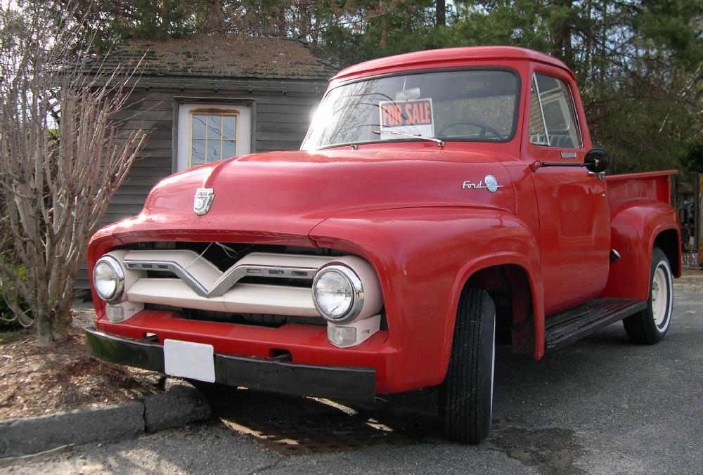 1955 ford f100 4x4 long bed
