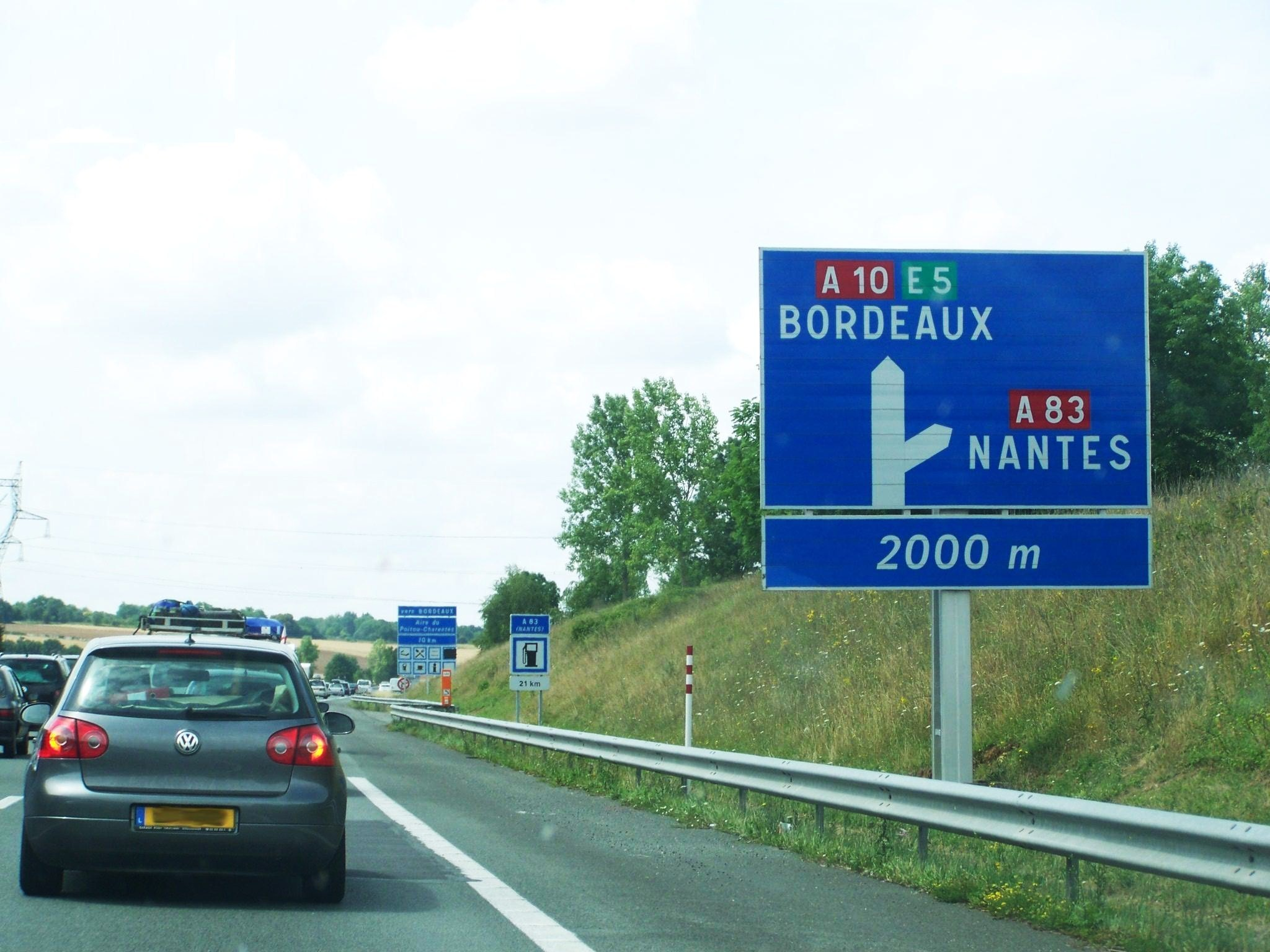 Bus Poitiers Nantes File Bifurcation A10 A83 Jpg Wikimedia Commons