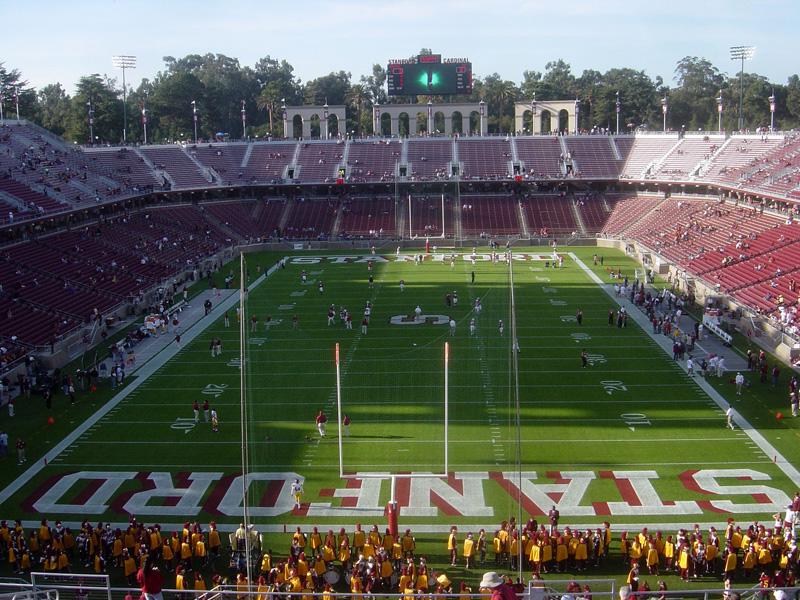 Stanford Stadium - Wikipedia