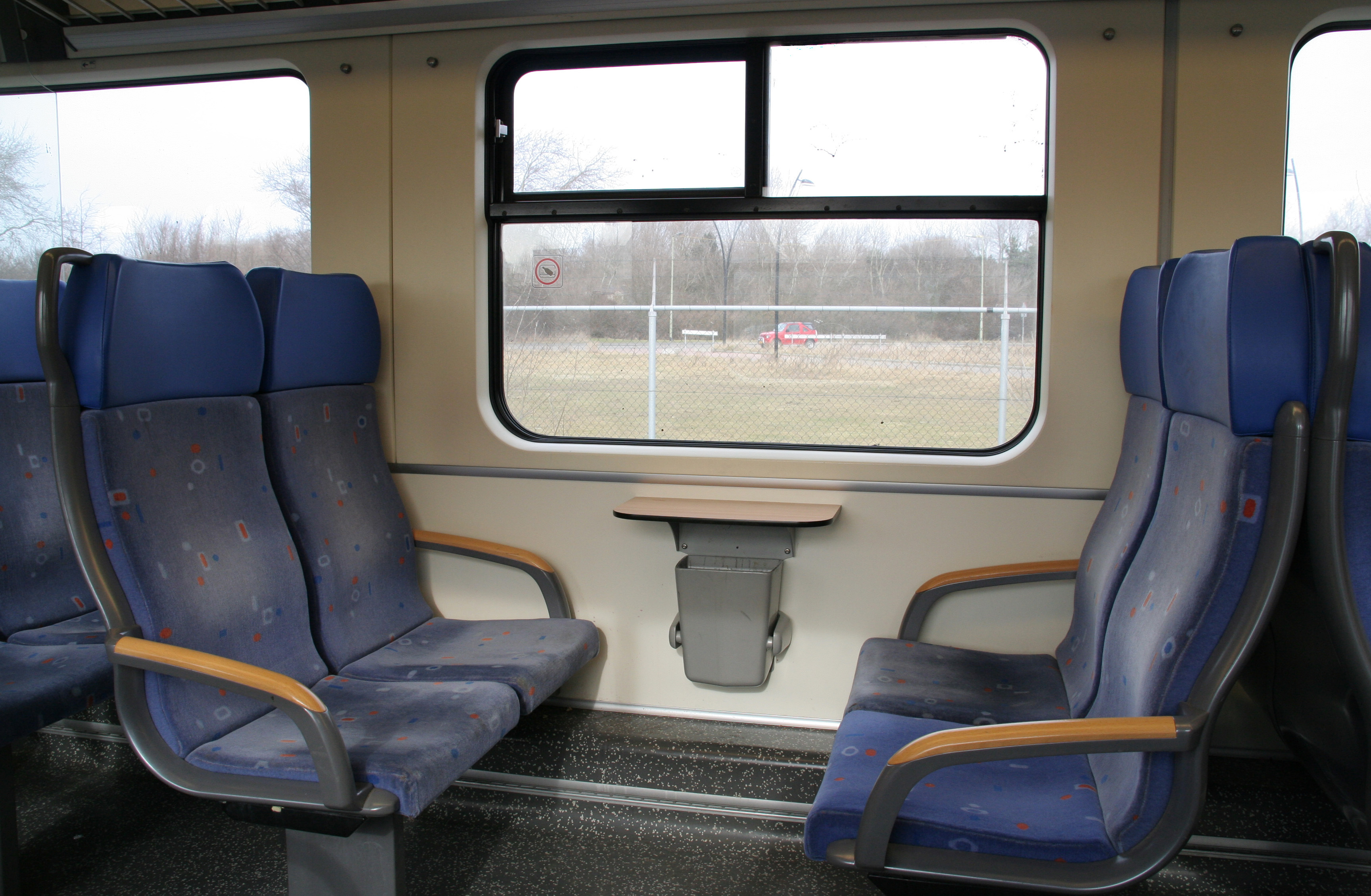Interieur Trein File Sprinter Interieur 2e Klas 2 Jpg Wikimedia Commons