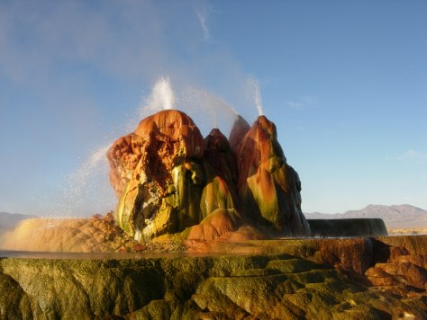 Fly Geyser- Most surreal places to visit - Part 3