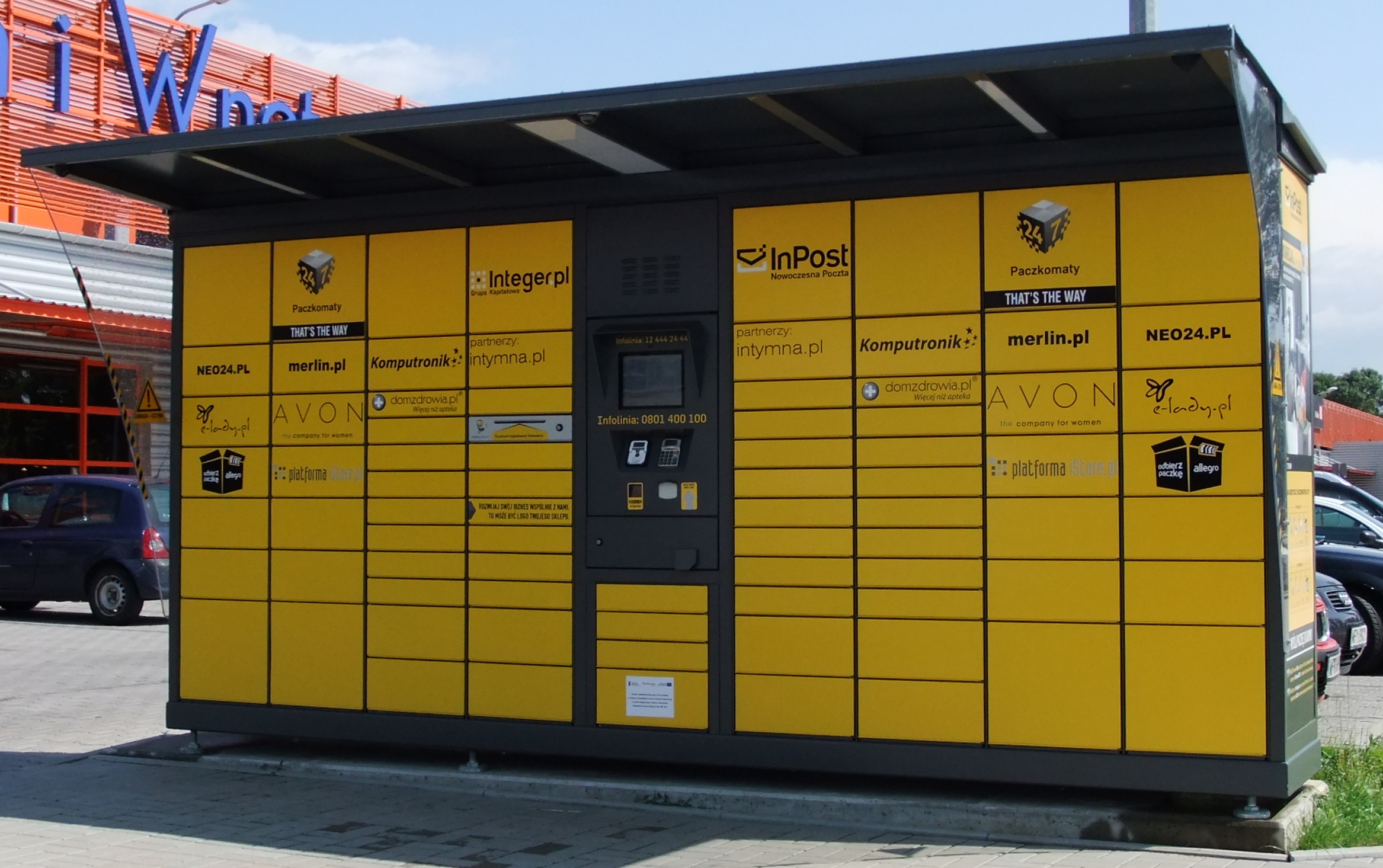 Cash Pool Automaten Plik Polish Packstation Jpg Wikipedia Wolna Encyklopedia