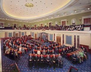 US Senate Session Chamber