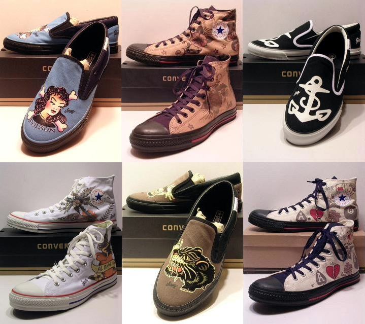 Sailor Jerry Converse Must have anchor shoes! PF Flyers and - tattoo release form