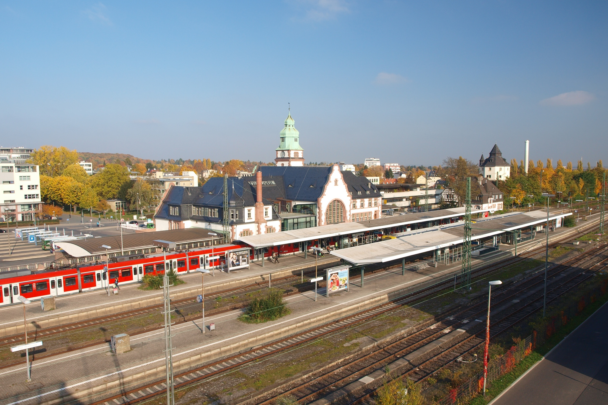 Bad Homburg Bahnhof Bad Homburg Wikipedia