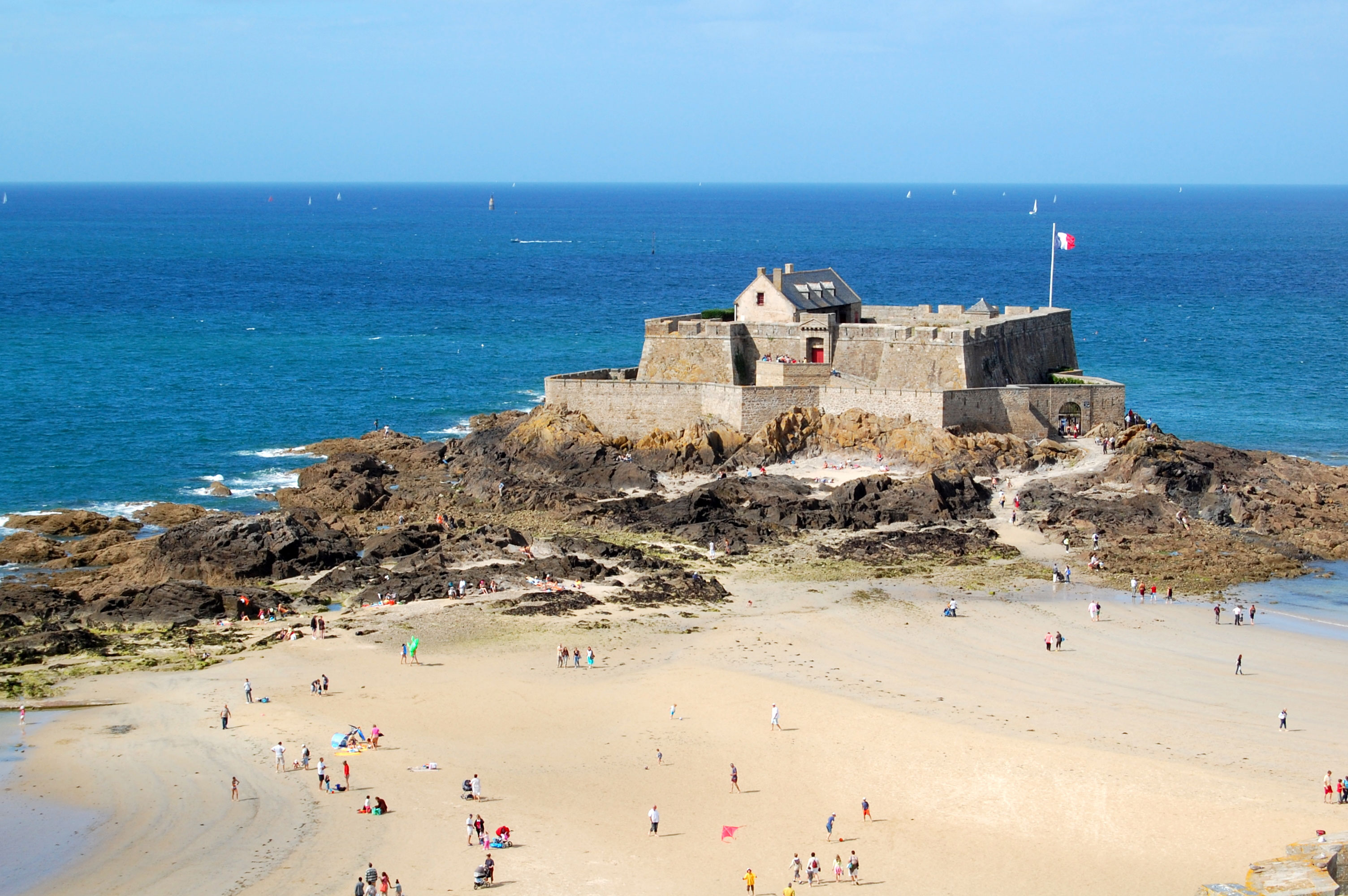 St Malo Bretagne File Fort National Dsc 6293 Jpg Wikimedia Commons