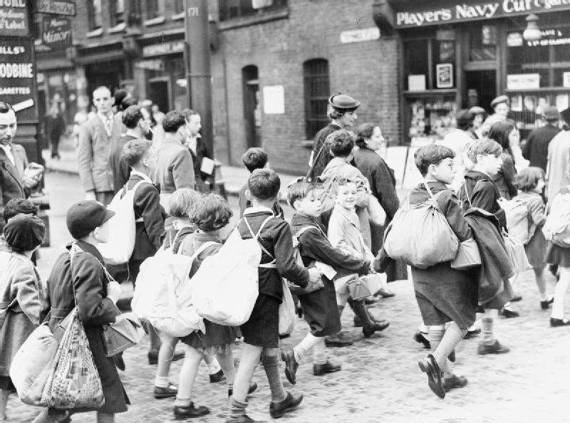 Filethe Civilian Evacuation Scheme In Britain During The