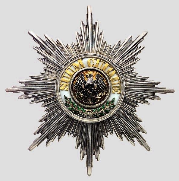 Order of the Black Eagle - Wikipedia