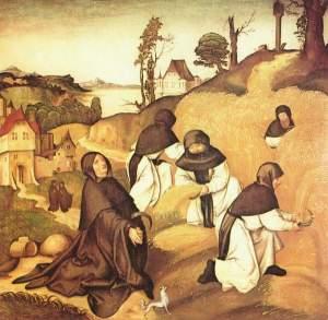Cisterian monks