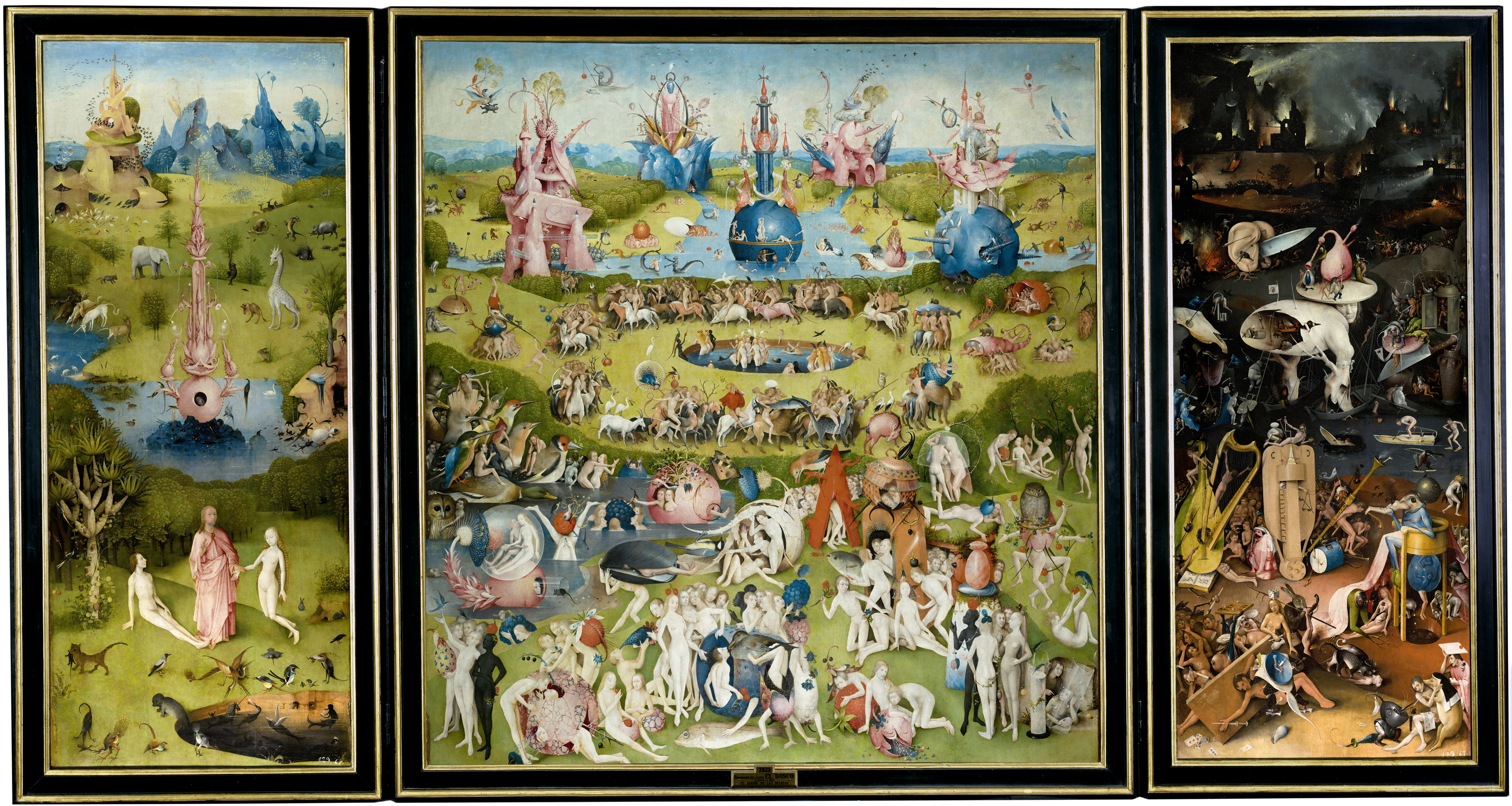 Monster World Garten The Garden Of Earthly Delights Wikipedia