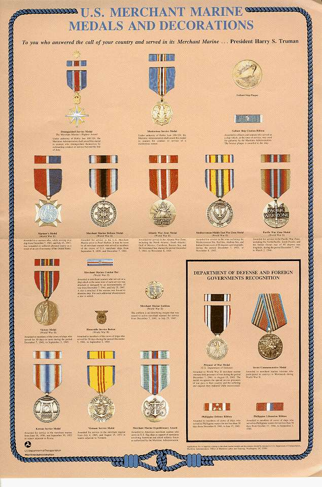Awards and decorations of the United States Merchant Marine - Wikipedia