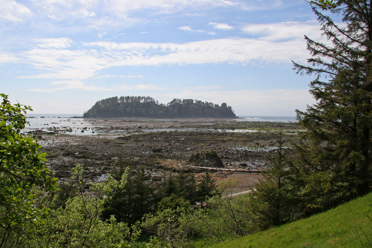 Tivoli Island Lake Ozette Washington Clallam County Every County