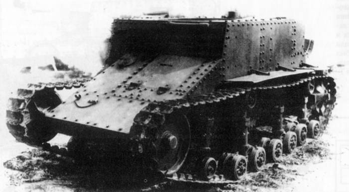 Suspension 3 T-23 Tankette - Wikipedia