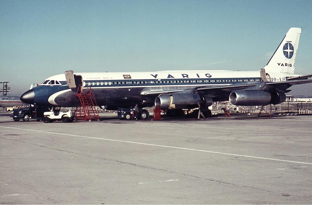 Convair CV-990-30 (Varig) Convair 990 Pinterest Airplanes - boeing aerospace engineer sample resume