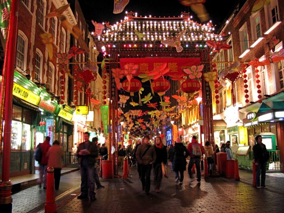 London Chinatown - Via Wikipedia