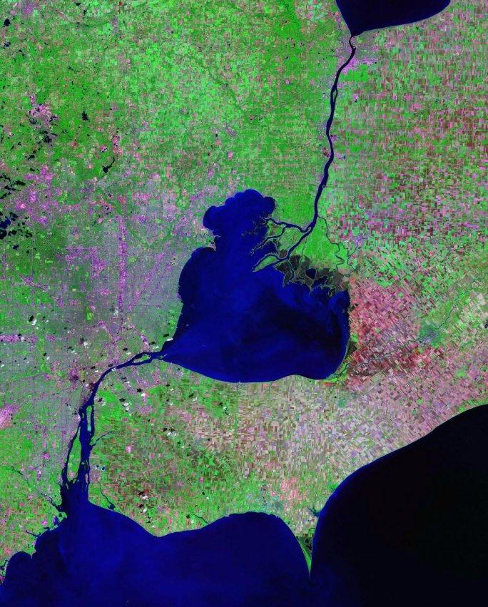 St Clair River - Wikipedia