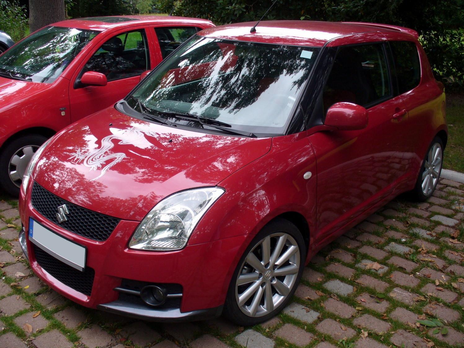 Supreme Car Wallpaper Suzuki Swift Sport 2008 Interior