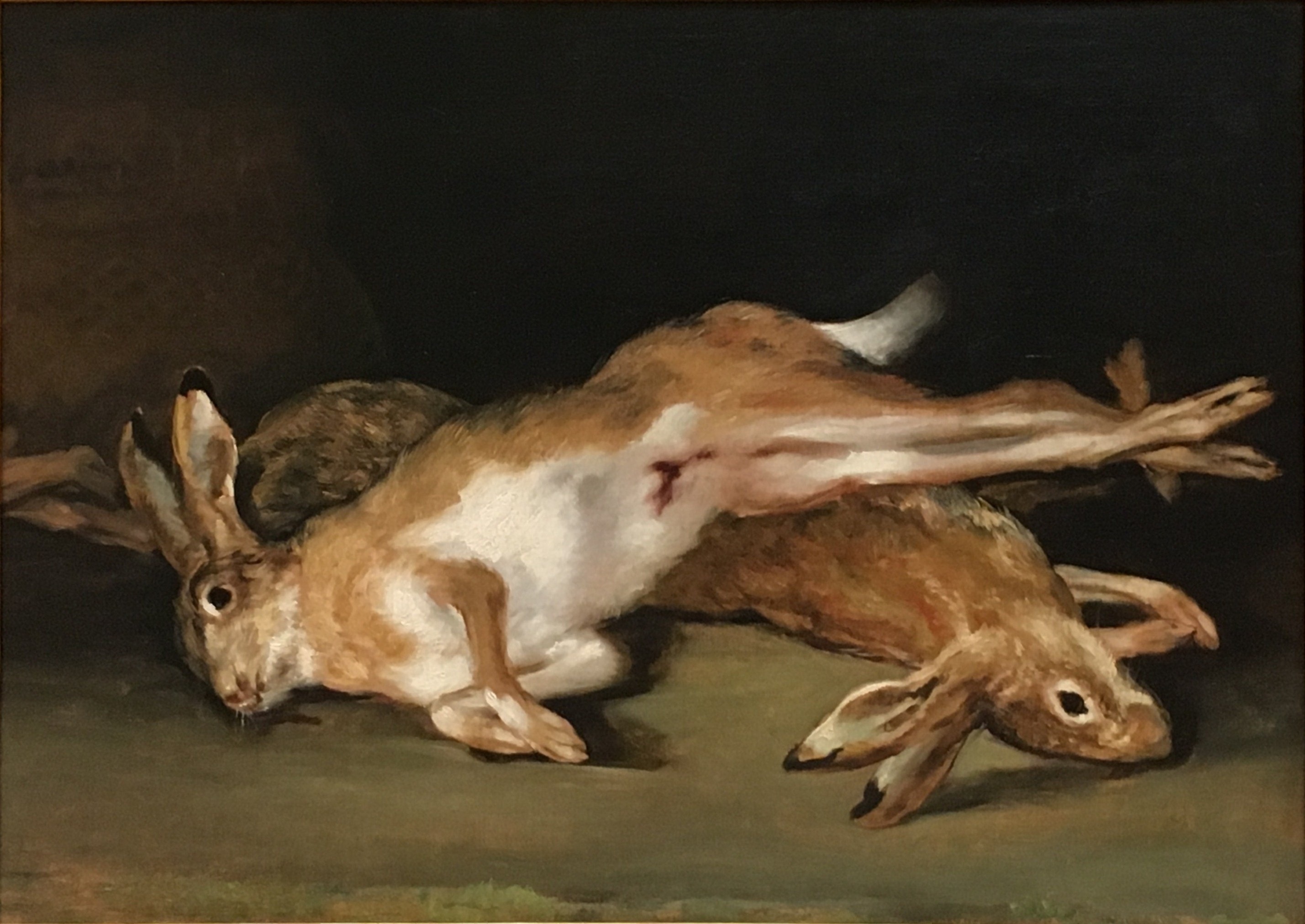Goya Pinturas Negras Francisco Goya Quotstill Life With Dead Hares 39 Oil On