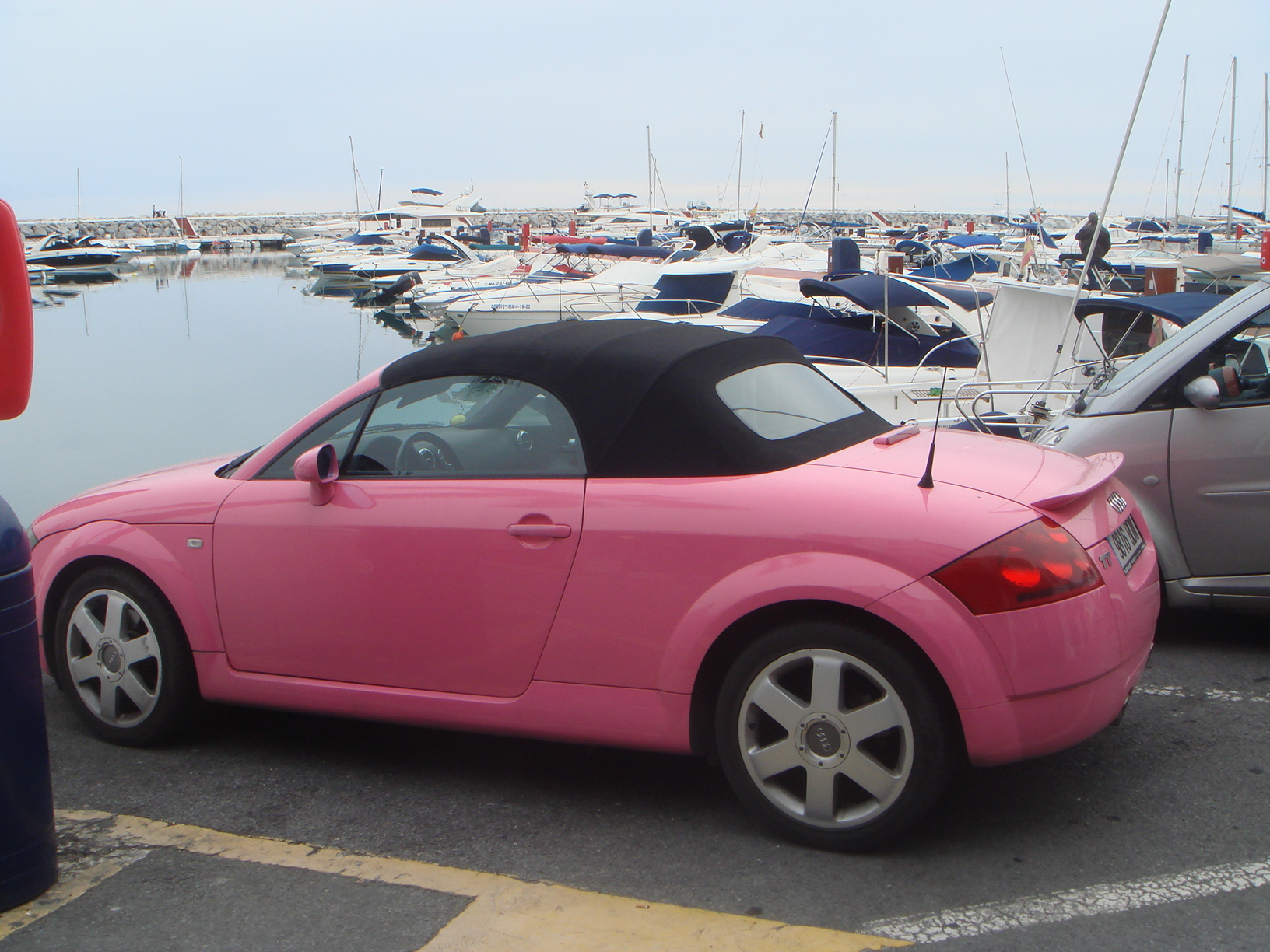 Audi Tt Rossa Pin Puerto Banus At Night On Pinterest