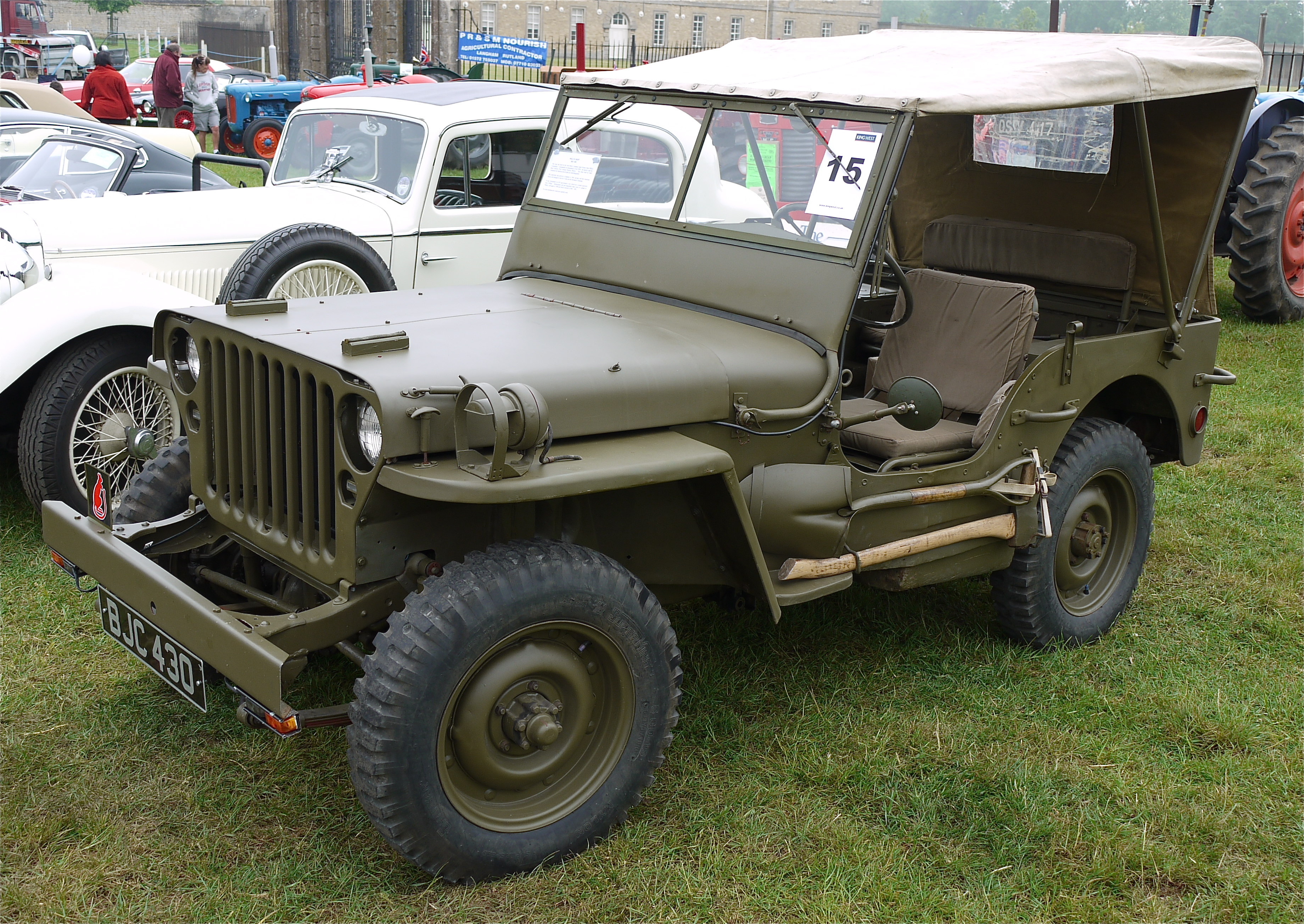 1945 Willys Military Jeep Auto Electrical Wiring Diagram 1953 Mb Ford Gpw And Hotchkiss Parts
