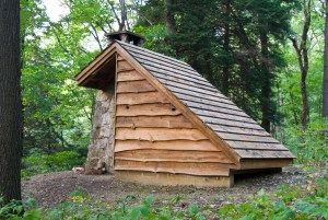 Oil Creek State Park Adirondack Shelter