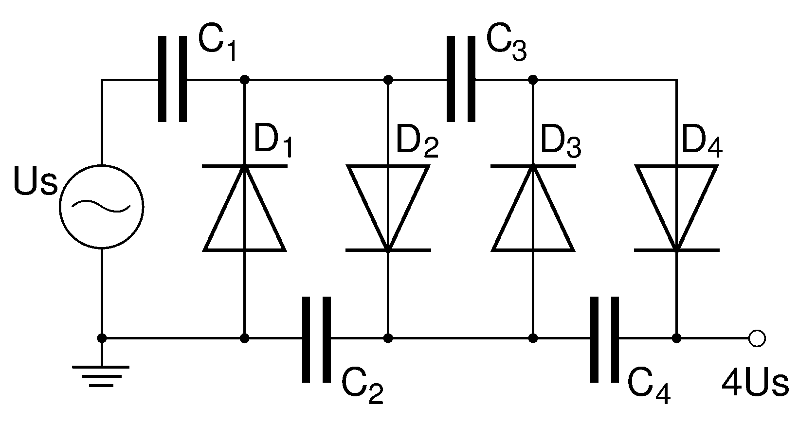 circuit diagram vector