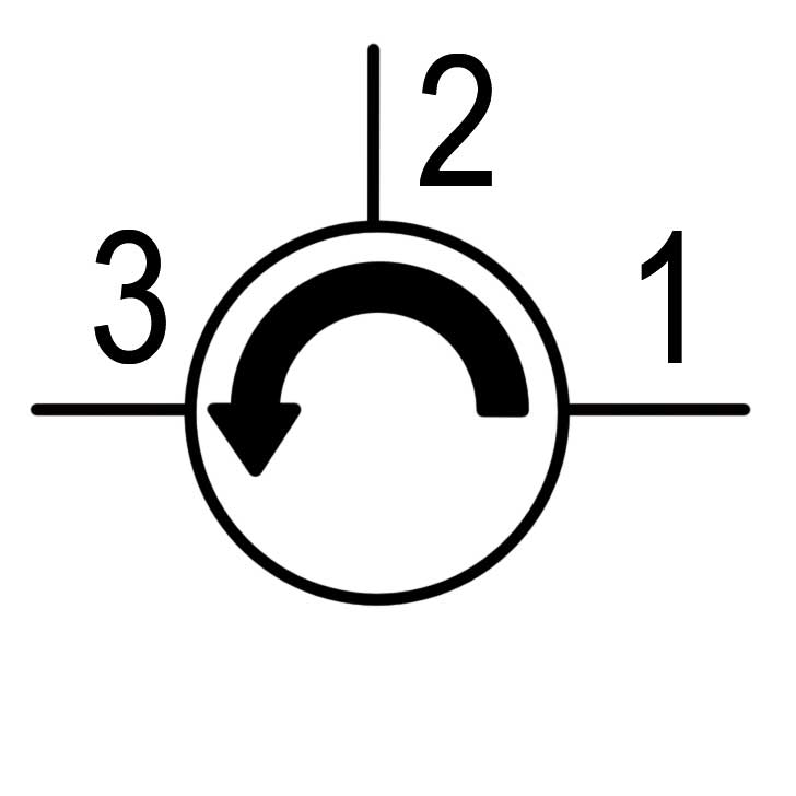 coaxial cable schematic symbol