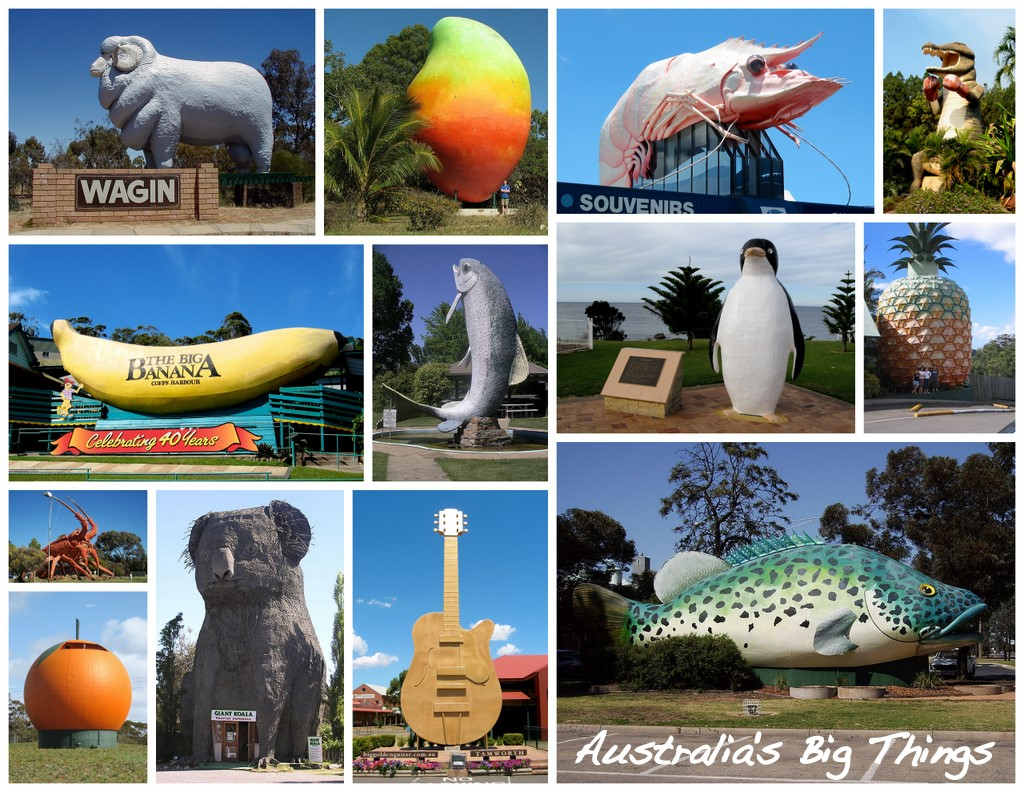 Collage Frames Australia Australia 39s Big Things Wikiwand