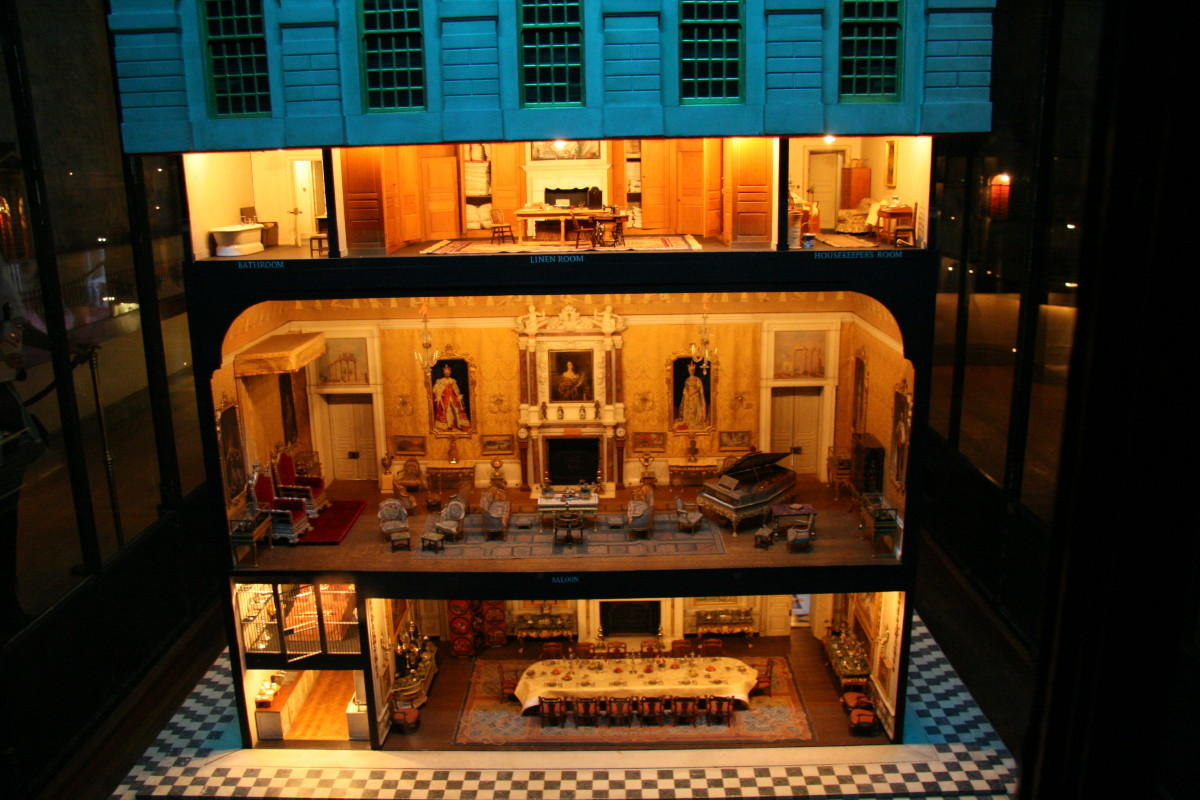 The Dolls House Queen Marys Dolls House Wikipedia
