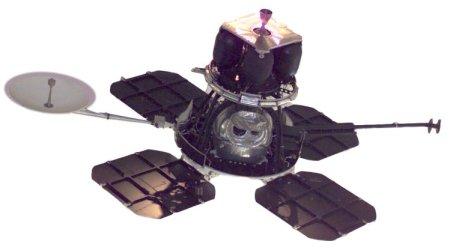 Orbiter 1, o primeiro satélite lunar, lançado no dia 10 de Agosto de 1966.