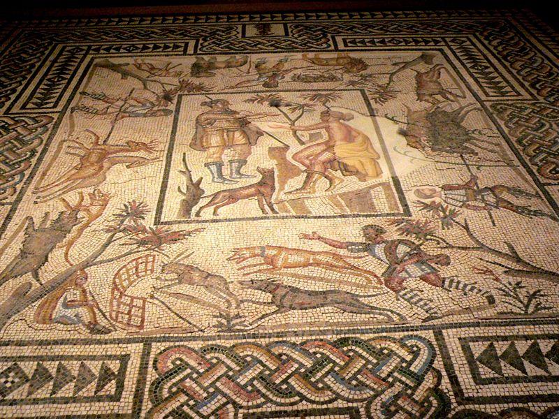 Fileroman Mosaic Floor Losangeles County Museum