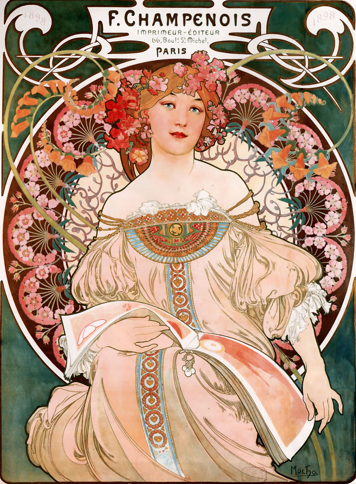 Art Nouveau Wikipedia Alphonse Mucha Simple English Wikipedia The Free Encyclopedia