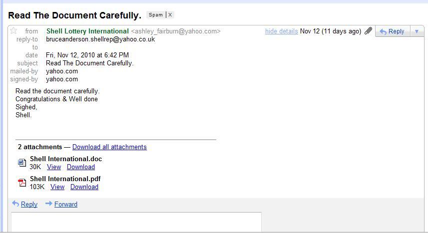 Lottery scam - Wikipedia - prize winner letter template
